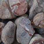 Landscaping Products Brown Forest Pebbles Supplier,Exporter,India