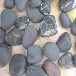 Landscaping Products Black slate Pebble Supplier,Exporter,India