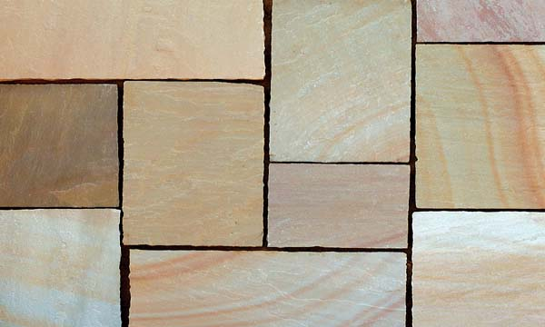 Buff (Sandstone) Handcut paving