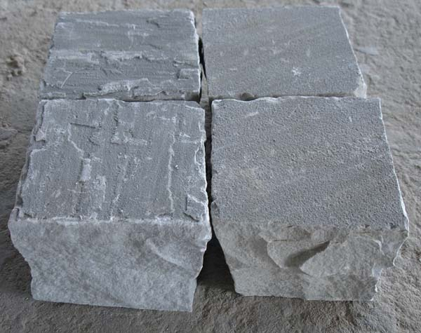 Autumn Grey Sandstone Cobbles (Sets)