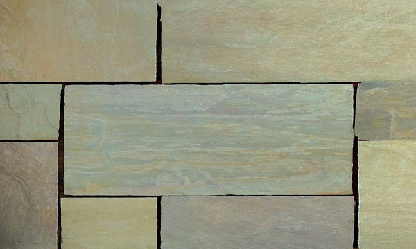 Raj Green (Sandstone) Handcut paving