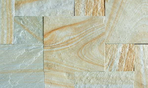 Himachal Yellow Sawn Edges and Natural Surface Tiles