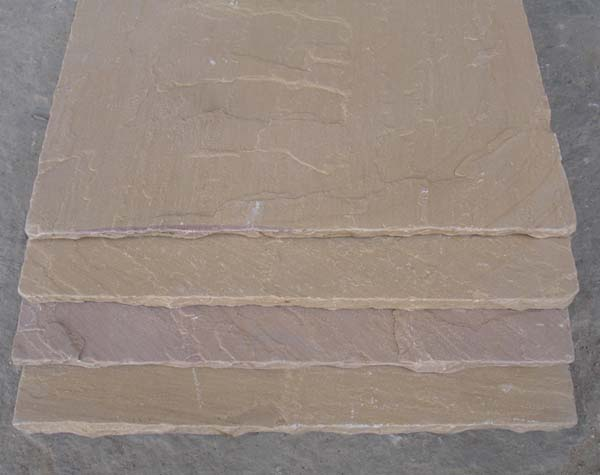 Goldenleaf Handcut paving vibrated (tumbled)