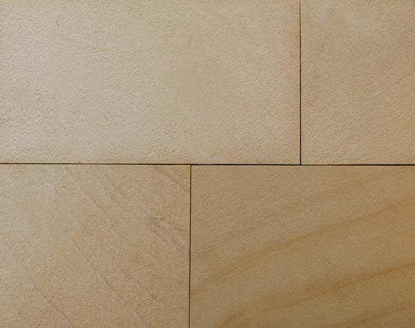 Golden leaf six side sawn and shotblasted