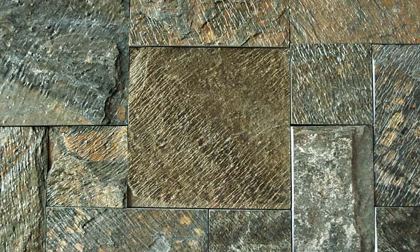 Deoli Green Sawn edges and Natural Surface tiles